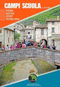Copertina catalogo Campi Scuola organizzati da Climax