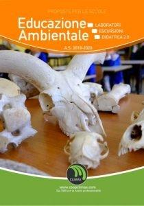 Copertina catalogo Educazione Ambientale - Climax